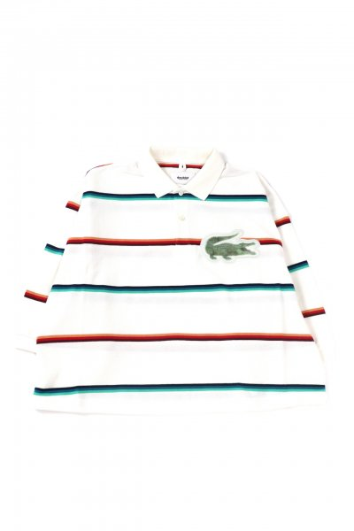 <img class='new_mark_img1' src='https://img.shop-pro.jp/img/new/icons2.gif' style='border:none;display:inline;margin:0px;padding:0px;width:auto;' />3D PATCH OVERSIZED POLO SHIRT