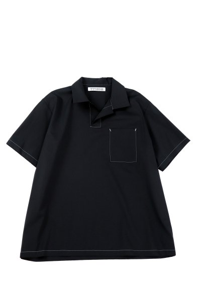 <img class='new_mark_img1' src='https://img.shop-pro.jp/img/new/icons2.gif' style='border:none;display:inline;margin:0px;padding:0px;width:auto;' />POLO SHIRTS(BLACK)