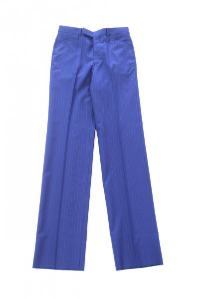 <img class='new_mark_img1' src='https://img.shop-pro.jp/img/new/icons2.gif' style='border:none;display:inline;margin:0px;padding:0px;width:auto;' />Stripe Straight Trousers(BLUE)