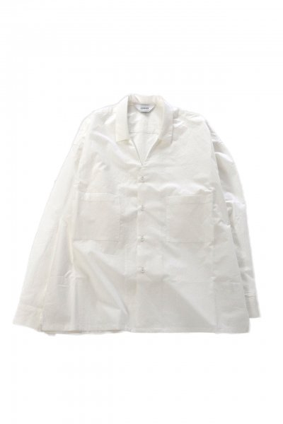 <img class='new_mark_img1' src='https://img.shop-pro.jp/img/new/icons2.gif' style='border:none;display:inline;margin:0px;padding:0px;width:auto;' />Collar less shirts(WHITE)