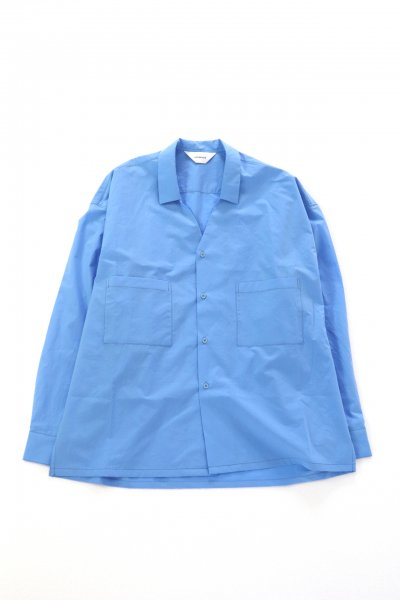 <img class='new_mark_img1' src='https://img.shop-pro.jp/img/new/icons2.gif' style='border:none;display:inline;margin:0px;padding:0px;width:auto;' />Collar less shirts(BLUE)