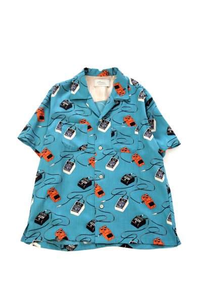 <img class='new_mark_img1' src='https://img.shop-pro.jp/img/new/icons2.gif' style='border:none;display:inline;margin:0px;padding:0px;width:auto;' />EFFECTOR PAJAMA SHIRT(BLUE)