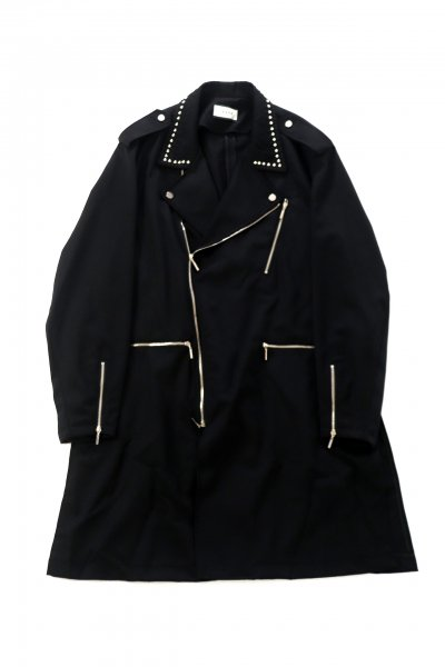 <img class='new_mark_img1' src='https://img.shop-pro.jp/img/new/icons2.gif' style='border:none;display:inline;margin:0px;padding:0px;width:auto;' />STUDS EMBROIDERY COAT(BLK)