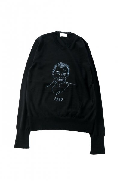 <img class='new_mark_img1' src='https://img.shop-pro.jp/img/new/icons2.gif' style='border:none;display:inline;margin:0px;padding:0px;width:auto;' />High Gauge Crew Neck Sweater