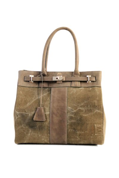 <img class='new_mark_img1' src='https://img.shop-pro.jp/img/new/icons2.gif' style='border:none;display:inline;margin:0px;padding:0px;width:auto;' />REMAKE TOTE BAG(BLACK)(KHAKI)