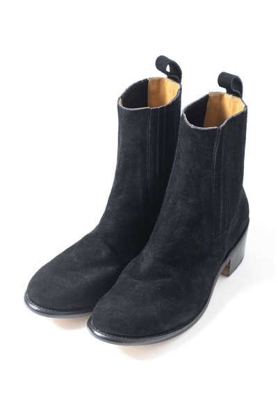 <img class='new_mark_img1' src='https://img.shop-pro.jp/img/new/icons2.gif' style='border:none;display:inline;margin:0px;padding:0px;width:auto;' />S.G HEEL(BLACK SUEDE)