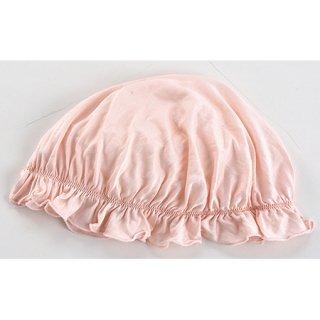 夜美容潤いシルク ナイトキャップ ピンク