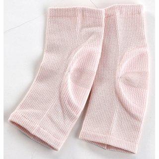 夜美容潤いシルク かかとつるつる ピンク
