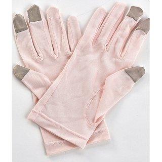 潤い手袋ピンク