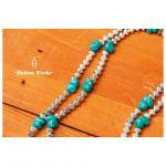 buttonworks ボタンワークス ターコイズネックレス TURQUOISE NECKLACE