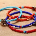 button worksボタンワークス スモール コンチョビーズ ブレスレットコンビネーションSMALL CONCHO BEADS BRACELET COMBINATION / 212