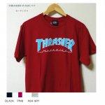 THRASHER MAGロゴ Tシャツ ブラック カーディナル ピンク アッシュグレー 4カラー メンズ レディース