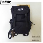 <img class='new_mark_img1' src='https://img.shop-pro.jp/img/new/icons25.gif' style='border:none;display:inline;margin:0px;padding:0px;width:auto;' />THRASHER リュック スラッシャー MAGロゴ ブラック カブセリュック バックパック  男女兼用 THRCD502