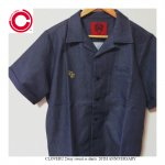 <img class='new_mark_img1' src='https://img.shop-pro.jp/img/new/icons25.gif' style='border:none;display:inline;margin:0px;padding:0px;width:auto;' />Cloveru japan 半袖スウェットボタンシャツ チャコール クローバルジャパン 2way sweat ss shirts 20TH ANNIVERSARY(sho watanabe)