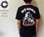 <img class='new_mark_img1' src='https://img.shop-pro.jp/img/new/icons25.gif' style='border:none;display:inline;margin:0px;padding:0px;width:auto;' />Cloveru japan 半袖Tシャツ ブラック クローバルジャパン PURE BLACK BIG HOMIE(SHO WATANABE)