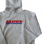 EAST 4th Skate イーストフォース プルオーバーパーカー ASH(薄めのグレー) EAST4TH HOODIE Ash メンズ レディース ユニセックス