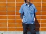 CAMCO カムコ プルオーバー シャンブレーシャツ ワークシャツ 半袖シャツ  CHAMBRAY PULL S/S 半袖 アメカジ