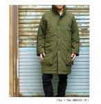 スウェーデンタイプ ミリタリージャケット ロングコート アウター  M90 ブラック 黒 オリーブ 2カラー 160cm 170cm 180cm
