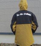 The 80s standard フードジャケット コヨーテブラウン ストリート ジャケット ザ エイティーズ メンズ レディース アウトドア ロゴジャケット メンズ レディース