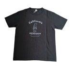 先行受注限定T barns Tシャツ 半袖 ブラック 黒 callfornia ロゴ メンズレディース アメカジ カジュアル BR-BR-22141 TSURI-AMI  CREW シンプル ロゴ