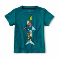 50% Off! tea☆ Ceramic Shark Graphic Tee
