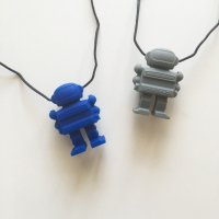 40%Off!! Juniorbeads Spaceman Pendant  (Blue・Grey)