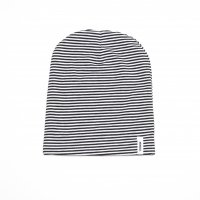 40%Off! MINGO.◇Beanie B/W Stripes