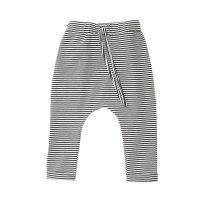 20%Off! MINGO.◇Harem Pants B/W Stripes (2-4y, 4-6y, 6-8y)