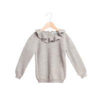 30%Off!!◇WADDLER◇Pierrot Jumper / Light Grey  (4y, 6y, 8y)