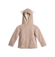 30%Off!!◇WADDLER◇Riversible Animal Hoodie / Oatmeal and White (1-2y, 3y)