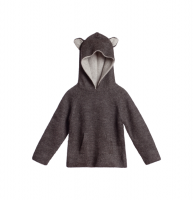 30%Off!!◇WADDLER◇Riversible Animal Hoodie / Charcoal and Light Grey (1-2y, 3y)