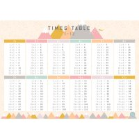 Love Mae◇Timetable (Pink) - A1 POSTER