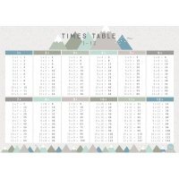 Love Mae◇Timetable (Blue) - A1 POSTER