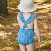 Misha and Puff◇Eleanor Sunsuit ◇Sky/Natural