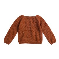 <img class='new_mark_img1' src='//img.shop-pro.jp/img/new/icons16.gif' style='border:none;display:inline;margin:0px;padding:0px;width:auto;' />30%Off! Misha and Puff◇Popcorn Sweater◇Terracotta