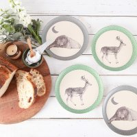 Love Mae◇Bear and Deer - 4pk Plates
