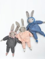 Polka Dot Club × Misha and Puff ◇ Medium Rabbit (denim/sky,coral/natural,grey/pinksand)