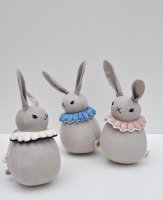 30%Off! Polka Dot Club × Misha and Puff ◇ Roly Poly Rabbit (sky, natural, pink sand)