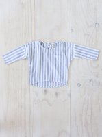 YOLI & OTIS◇MARCEL TEE◇GREY/WHITE STRIPE