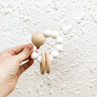 Saturn Teether (White・Blush・Spice)