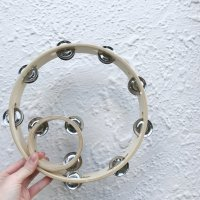Mini and Me Tambourine Set