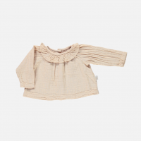 Poudre Organic◇Blouse col volant Amberlight (12m,24m,4A,6A)