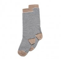 <img class='new_mark_img1' src='//img.shop-pro.jp/img/new/icons14.gif' style='border:none;display:inline;margin:0px;padding:0px;width:auto;' />MINGO.◇Knee sock striped and Raw hide (19-22, 23-26, 27-30)