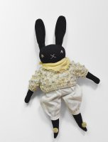 Polka Dot Club × Misha and Puff ◇ Large Black Rabbit
