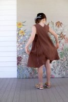 <img class='new_mark_img1' src='//img.shop-pro.jp/img/new/icons14.gif' style='border:none;display:inline;margin:0px;padding:0px;width:auto;' />SOOR PLOOM◇Willow Dress, Terracotta (18-24m,2-3y,4-5y,6-7y,8-9y)