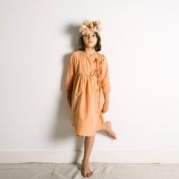 <img class='new_mark_img1' src='//img.shop-pro.jp/img/new/icons14.gif' style='border:none;display:inline;margin:0px;padding:0px;width:auto;' />yellowpelota◇Robe Dress, Orange Juice (4Y,6Y,8Y,10Y)