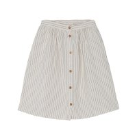 60%Off!! yellowpelota◇Stripes Skirt, Natural Flour (2Y,3Y,4Y,6Y,8Y,10Y)