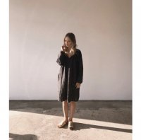30%Off!! boy+girl◇Woman Peasant Dress (Black)