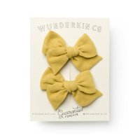 Wunderkin CO.◇Mini Pinwheel Pigtail Set // Yellowwood