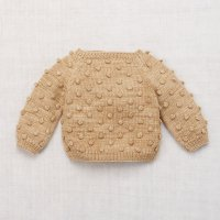 Misha and Puff◇Popcorn Sweater◇Alabaster
